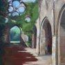 Abbaye des Vaux de Cernay - 2 [Huile - 61 x 46]