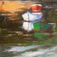 Trois barques