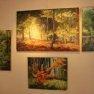 Expo Chevreuse - Avril 2012 [Tableaux « forêt » huile et acrylique]
