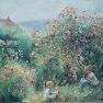 Là-haut, à Giverny [Huile sur toile - 45 x 55]