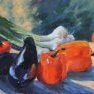 Aubergines, poivrons & Co [Etude - 41 x 33]
