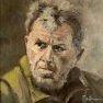 Portrait de chasseur [Huile - 30x 30]