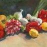 Poivrons, radis et compagnie [Etude - 38 x 55]