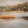 L'étang de Saint Hubert [Huile - 90 x 58]
