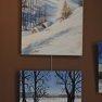 La Bergerie, Paysages d'hiver