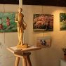 Expo Chevreuse Avril 2012 [Peintures « Maddy » et sculptures B. (...)]