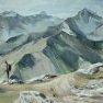 A perte de vue - Beaufortain [Huile - 60 x 80]