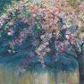 Cerisier en fleurs [Etude - 54 x 65]