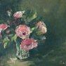 Petites roses [Huile - 27 x 36]