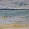 Temps gris sur la mer [Croquis - 20 x 30]