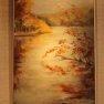 Temps gris à l'étang d'Or [Huile sur toile - 70 x 50]