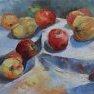 Pommes et coings - Etude 1 [Huile - 30 x 40]