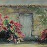 Le petit mur charentais [Aquarelle - 40 x 50]