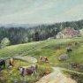 La Grange Royer - Jura [Huile sur toile - 50 x 65]