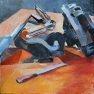 Atelier du Mecano [Huile - 50 x 50]