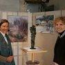 Myriam de Dinechin et Brigitte Matern [Expo Chevreuse Avril 2012]