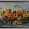 Panier de fleurs [Aquarelle - 30 x 40]