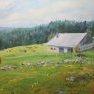 « La ferme » [Acrylique - 55 x 33]