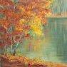 Miroir d'automne [30 x 30]