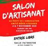Affiche Salon d'artisanat 2021 - Rambouillet